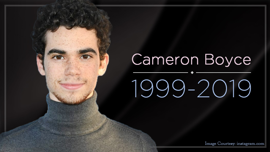 Disney Star Cameron Boyce Dies At The Age Of 20 Years