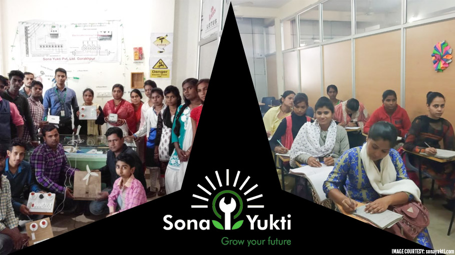 Top Global Award for Sona Yukti for Skilling Rural Youth