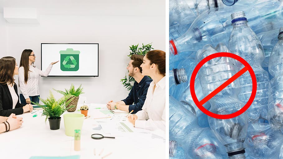 Promote a Green Office - Quit Plastics and Save Energy