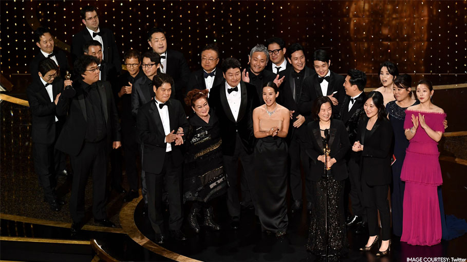 South Korean Movie 'Parasite' Makes History by Winning Most of Oscar 2020