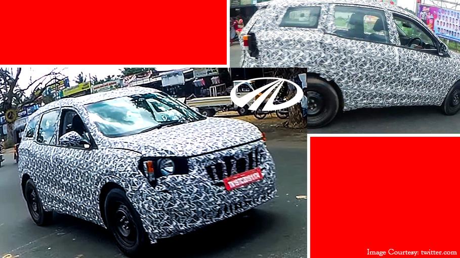 Next-Gen Mahindra XUV500 Prototype Images Go Viral