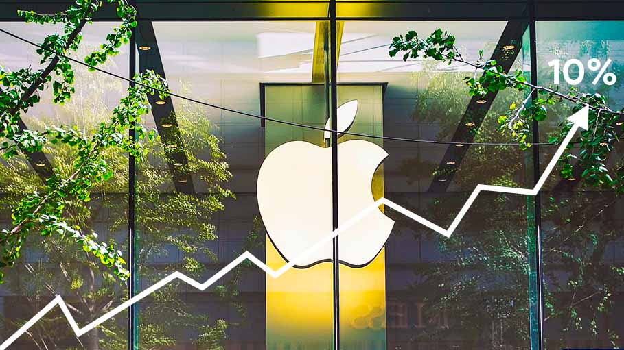 Apple Eclipses Aramco as World's Most Valuable Publicly Listed Company After 10% Gains