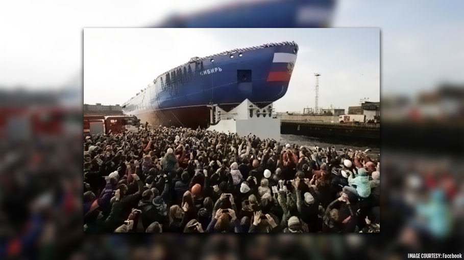 World's Largest Nuclear-Powered Icebreaker Launched by Russia