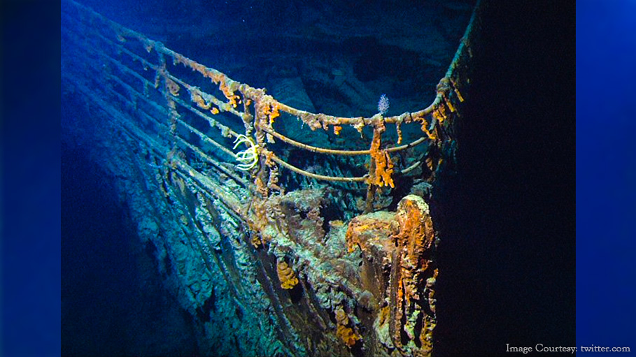 "Titanic Historian Says ""Titanic Is Returning to Nature."""
