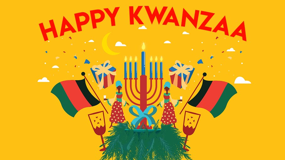 Kwanzaa Celebration with Siri, My Virtual Mate