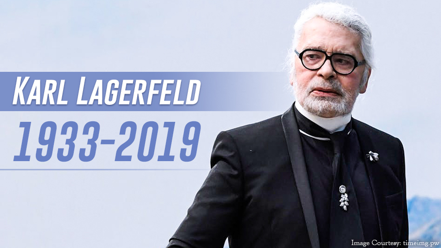 Iconic Fashion Designer Karl Lagerfeld Passes Away Tributes Pour In