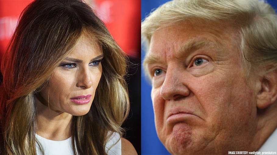 How Donald Trump Gets Punished By Wife Melania Trump