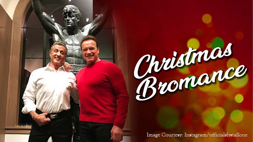 Sylvester Stallone And Arnold Schwarzenegger Continue Their 'Bromance' By Catching Up On Christmas Day
