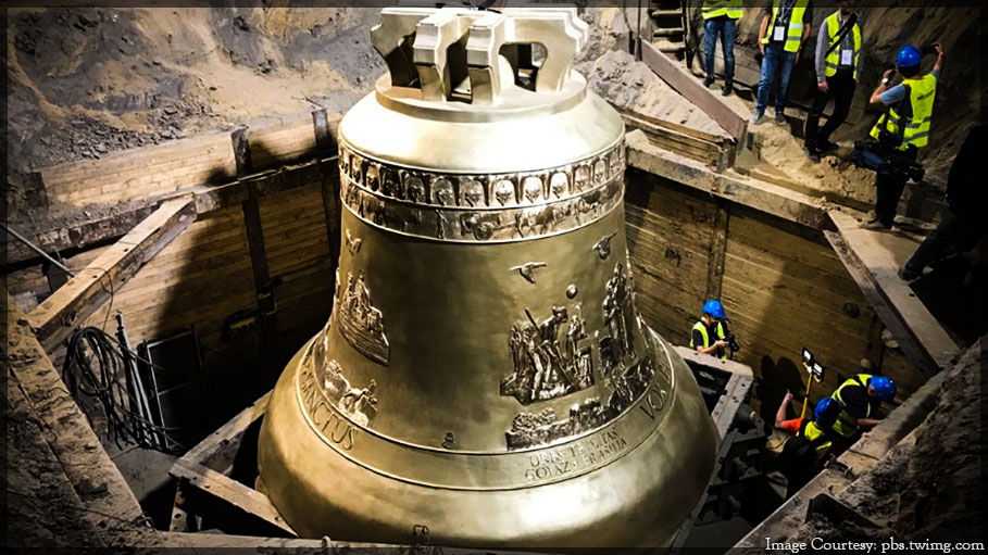 World's Largest Bell Unveiled in Poland