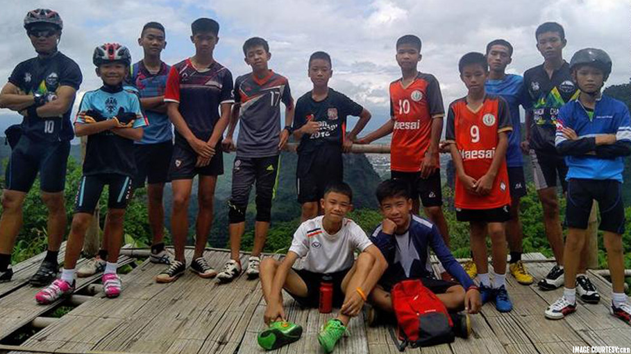 Rescue Teams Are in Search of Young Missing Boys Who Disappeared into Thailand's Deep Tham Luang Nang Non Caves
