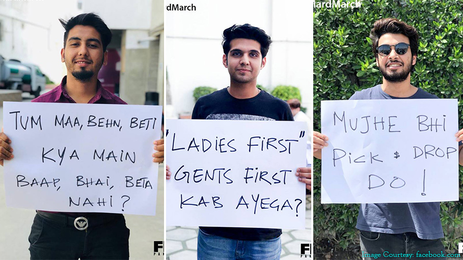 Pakistani Men Went for the Mard March, Answering to Aurat March