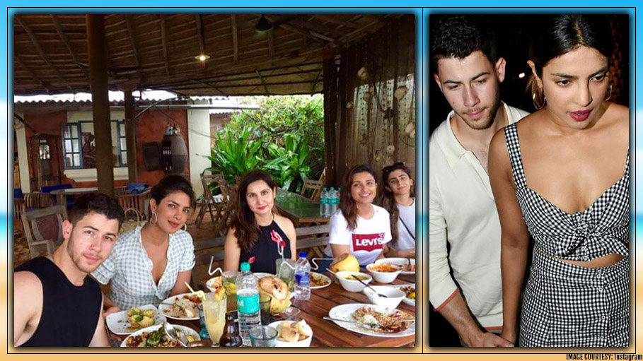 Priyanka Chopra and Nick Jonas Are Holidaying in Goa While Parineeti Chopra's Rain Video Grabs Attention