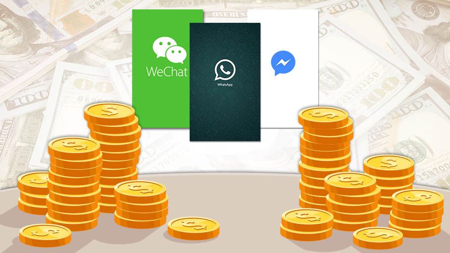 How are the Messaging Apps Earning Money