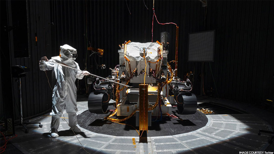 NASA Unveils the Rover for 'Mars Mission 2020'