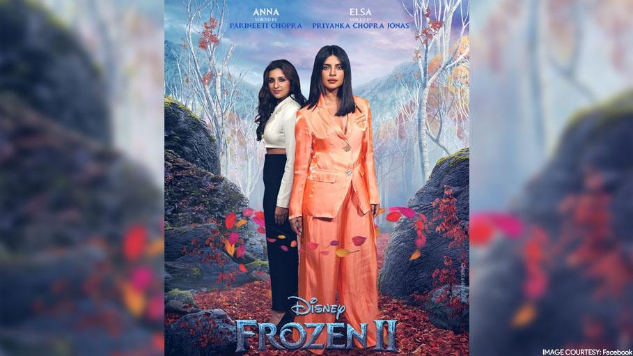Real Life Sisters Priyanka Chopra Jonas & Parineeti Chopra Voice 'Frozen 2' Sisters Elsa & Anna