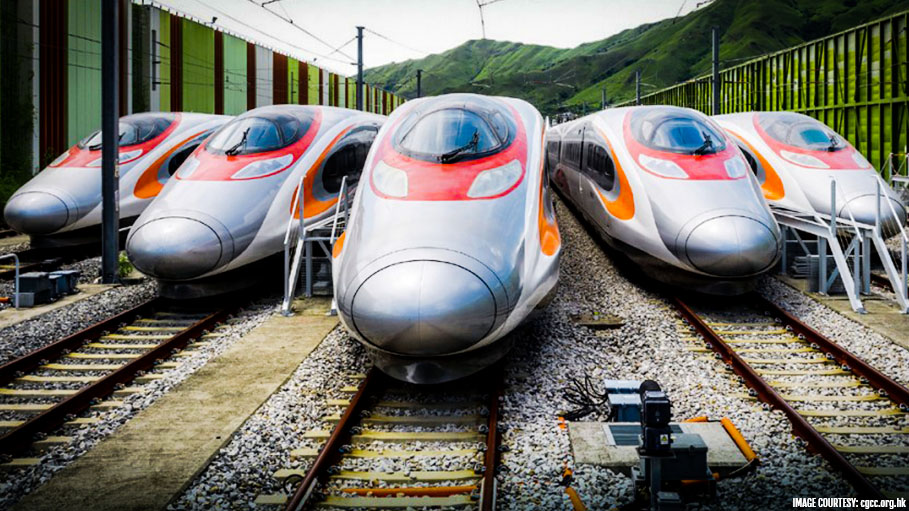 Bullet Train to Connect Hong Kong with Rest of China