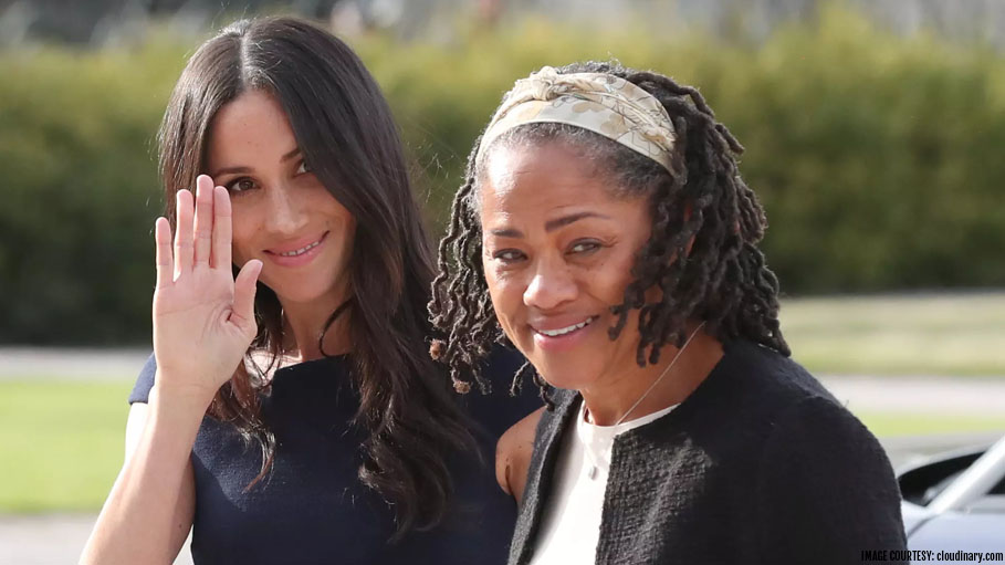 Grandma Doria Ragland Arrives in UK Just Few Days Prior to the Birth of the Royal Baby