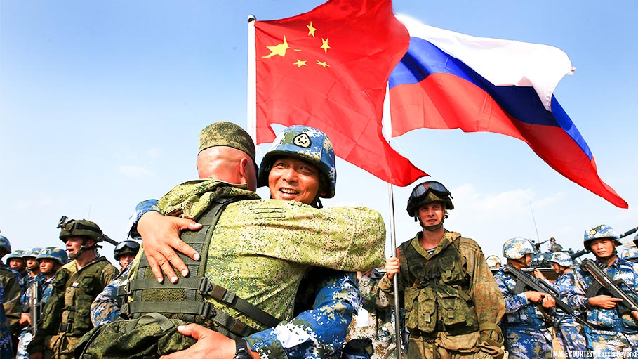 China to Join Russia in Military Exercise, Throwing a Challenge to US