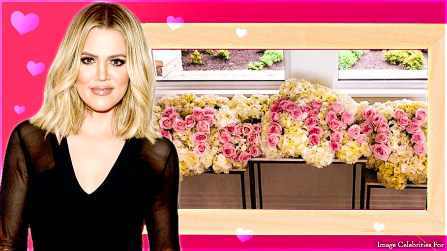 New Mom Khloe Kardashian Celebrates Mother's Day with Her Baby True, and She Received Beautiful Flowers