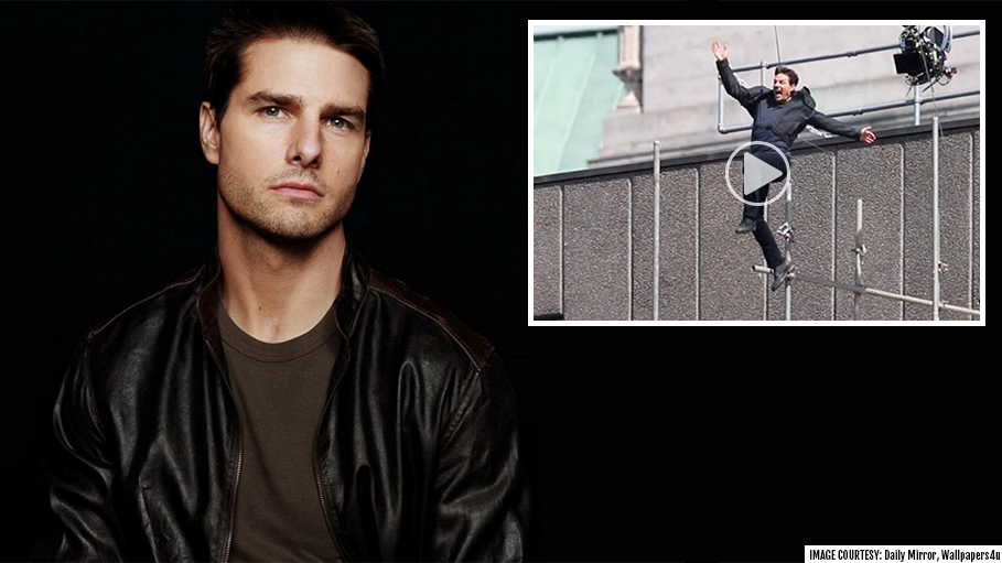 Tom Cruise Shares A Scary Stunt Footage Of His Ankle Breaking, Leaving Fans Shocked
