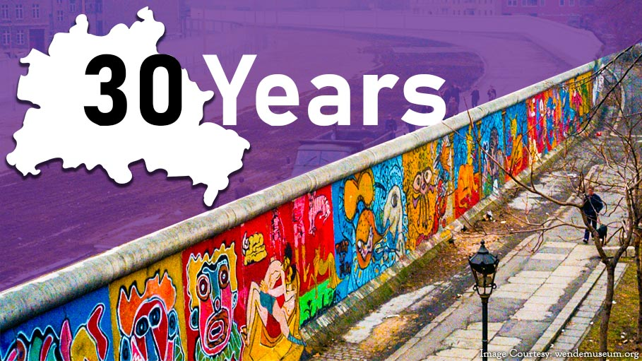 Berlin Wall is Back after 30 Years