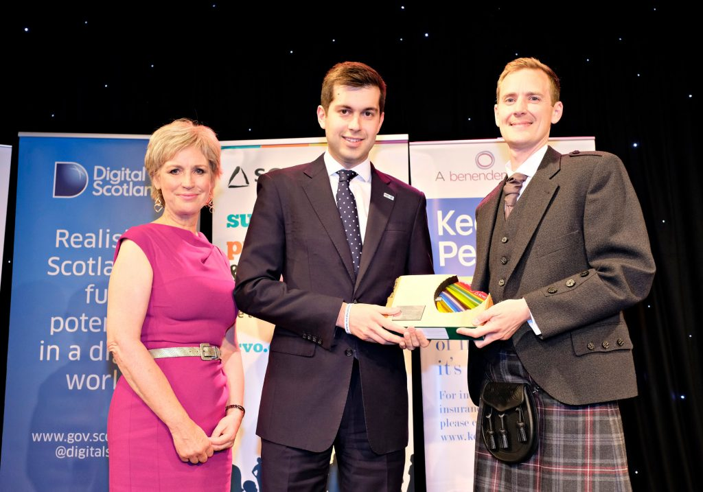 Gordon's Fightback, MND Scotland - People's Choice Award