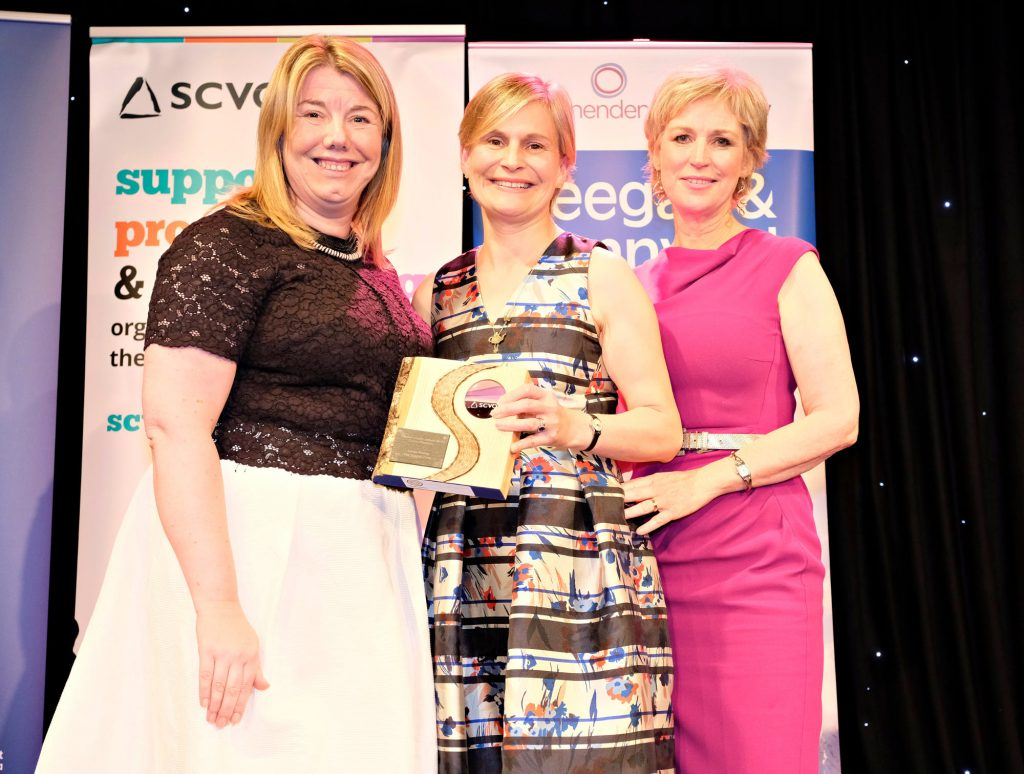 Laura Young, Teapot Trust - Charity Champion
