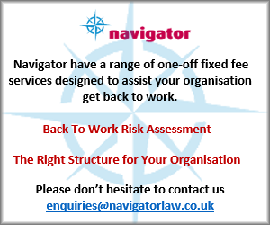 Navigator have a range of one-off fixed fee services designed to assist your organisation get back to work:
