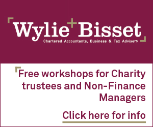 Wylie & Bisset LLP chartered accountants       Free workshops for Charity trustees and Non-Finance Managers        Click here for info