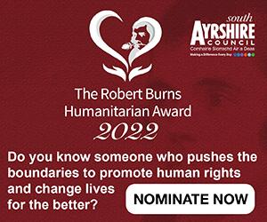 Robert Burns Humanitarian Awards - nominate now