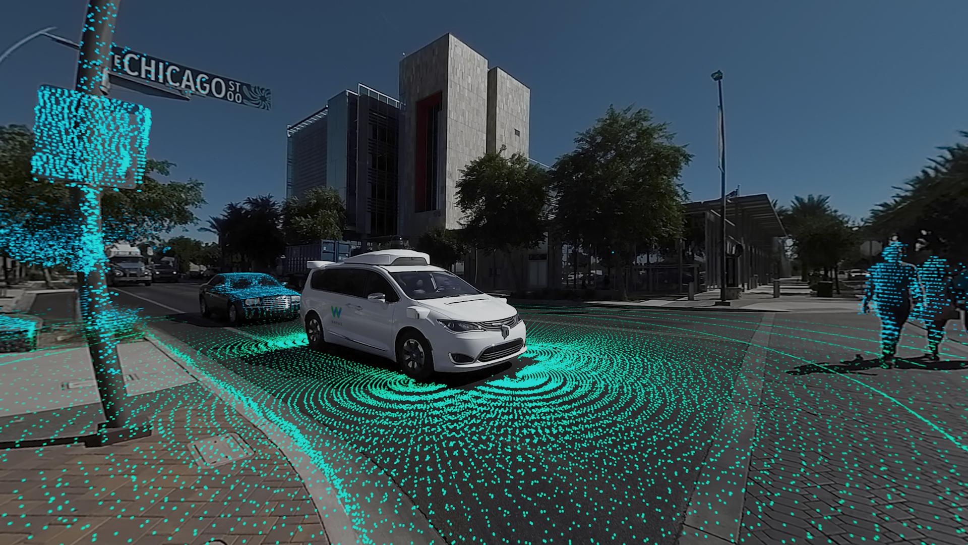 Waymo Self Drive Car