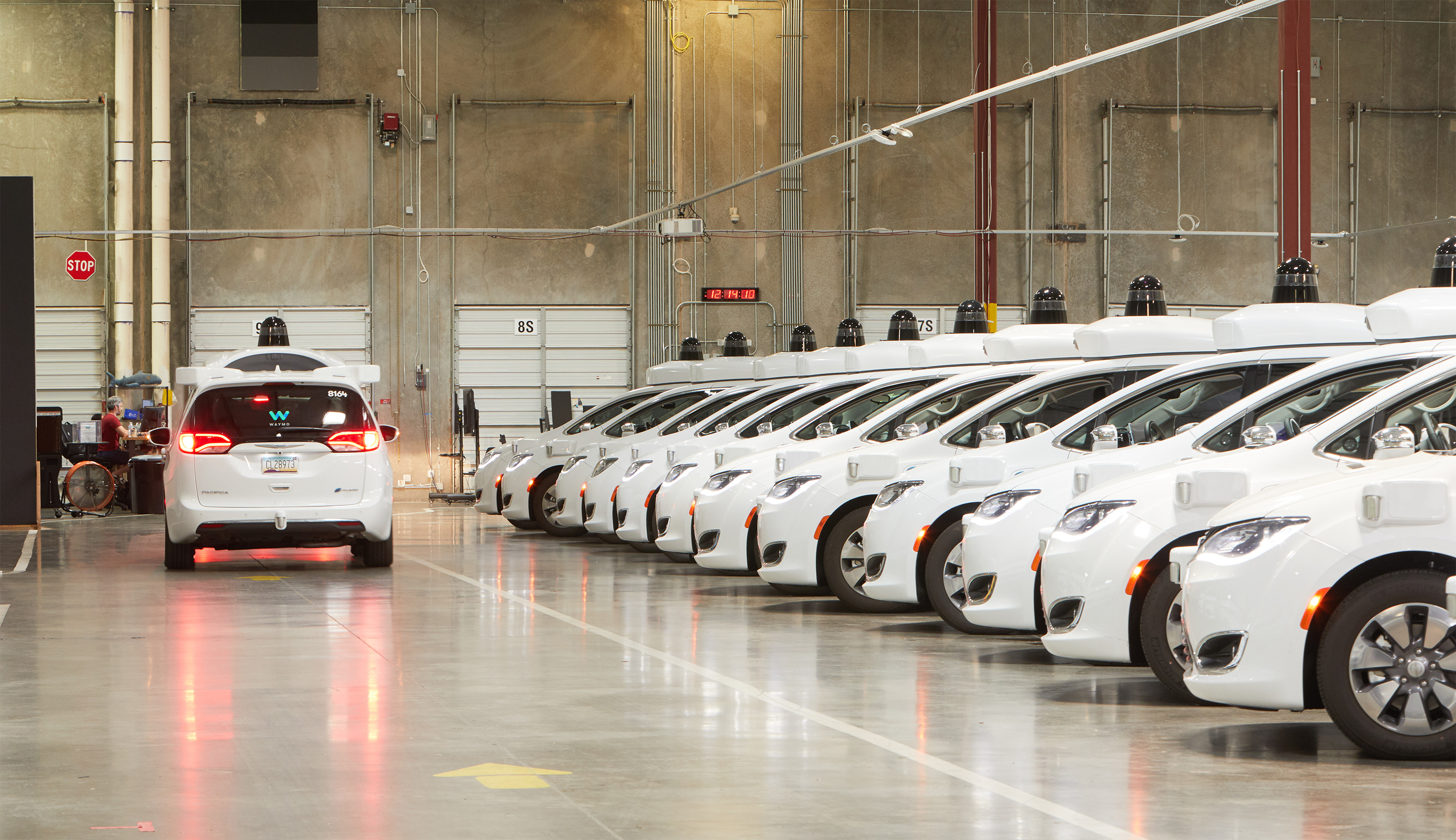 Waymo's Depot in Chandler