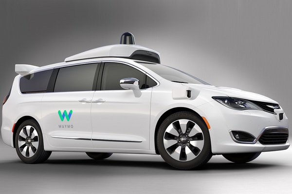 Waymo's fully self-driving Chrysler Pacifica Hybrid minivan 1