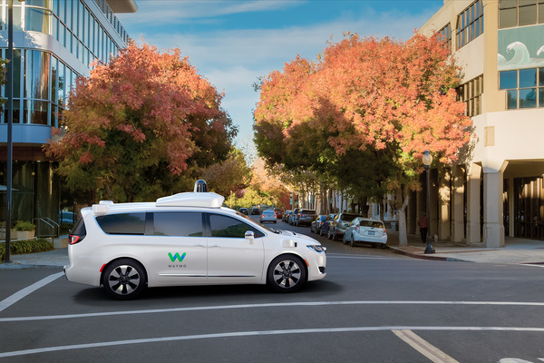 Waymo's fully self-driving Chrysler Pacifica Hybrid minivan 5