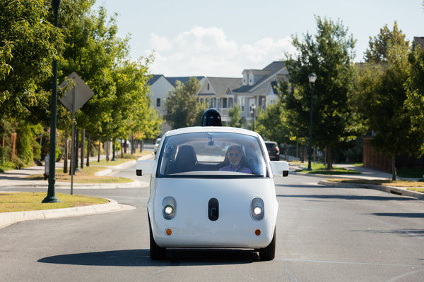 World's first fully self-driving ride on public roads: Steve Mahan 1