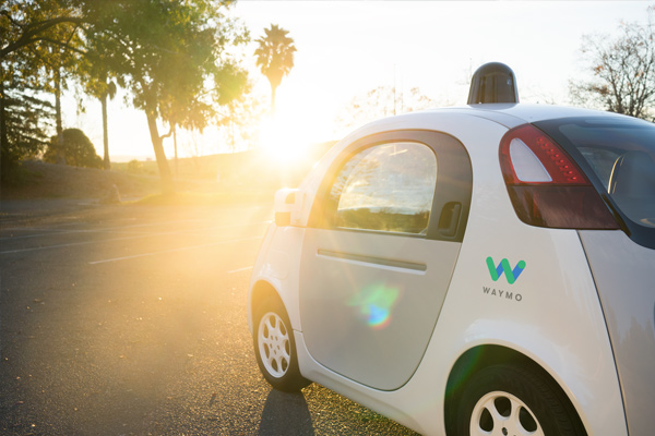 Waymo's fully self-driving reference vehicle, Firefly 2