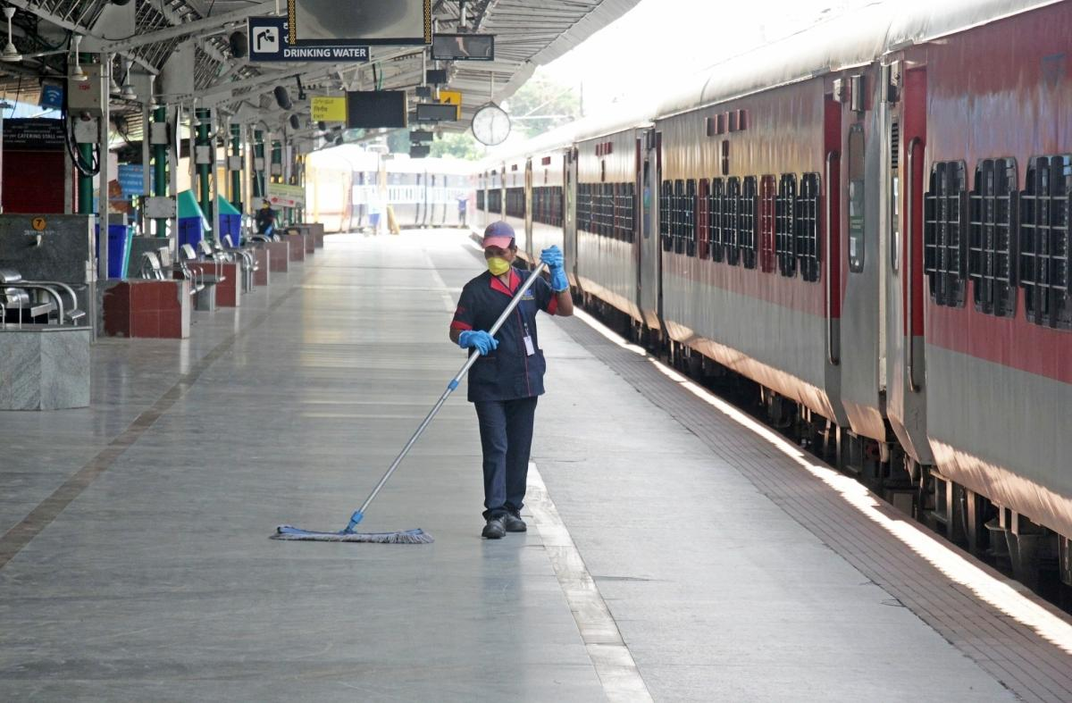 Railway Station Cleaning Services