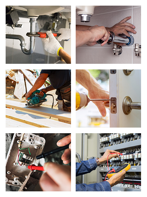 Carpentry, Electrical, and Plumbing Services