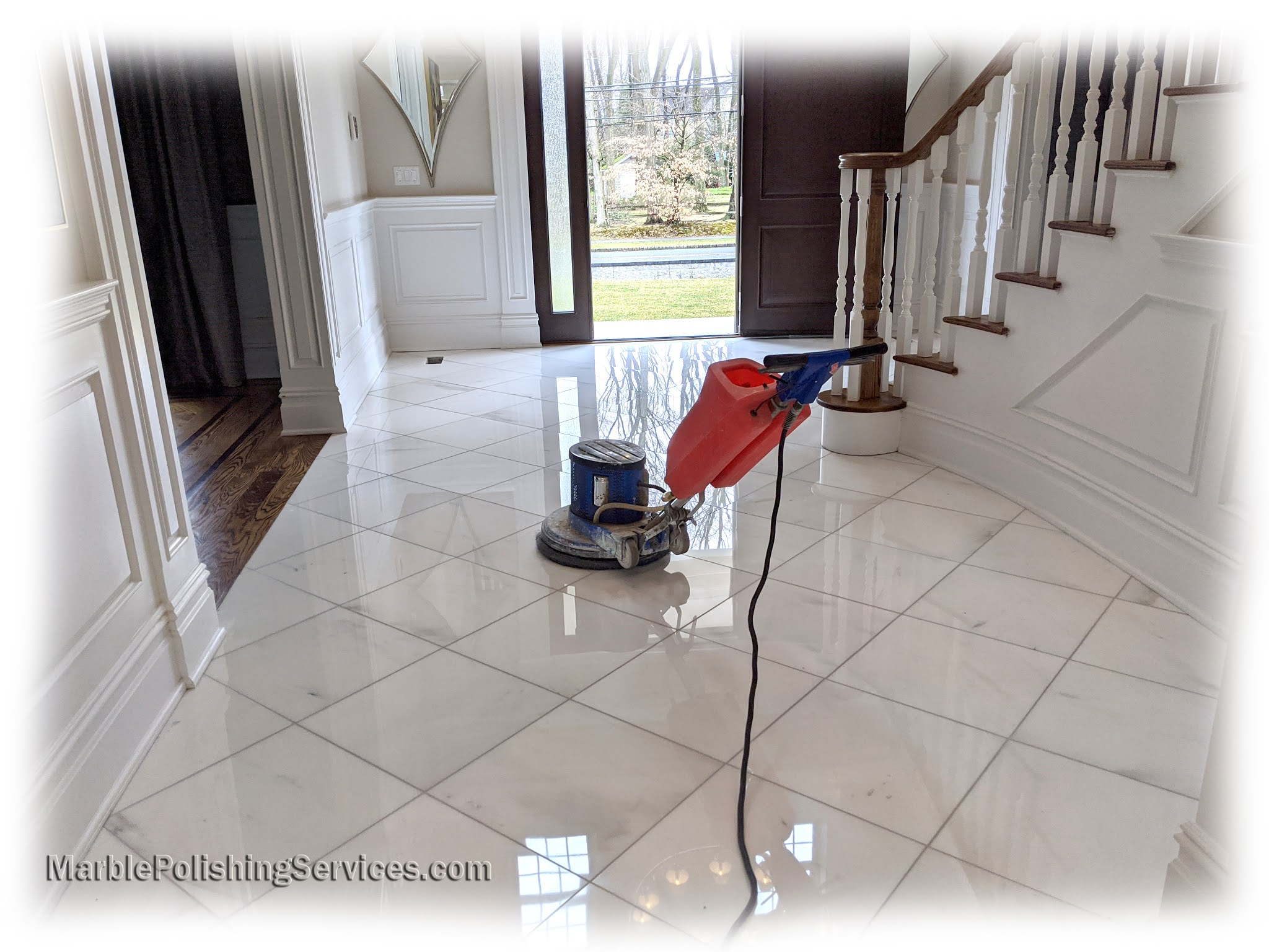 Refinish Marble Flooring
