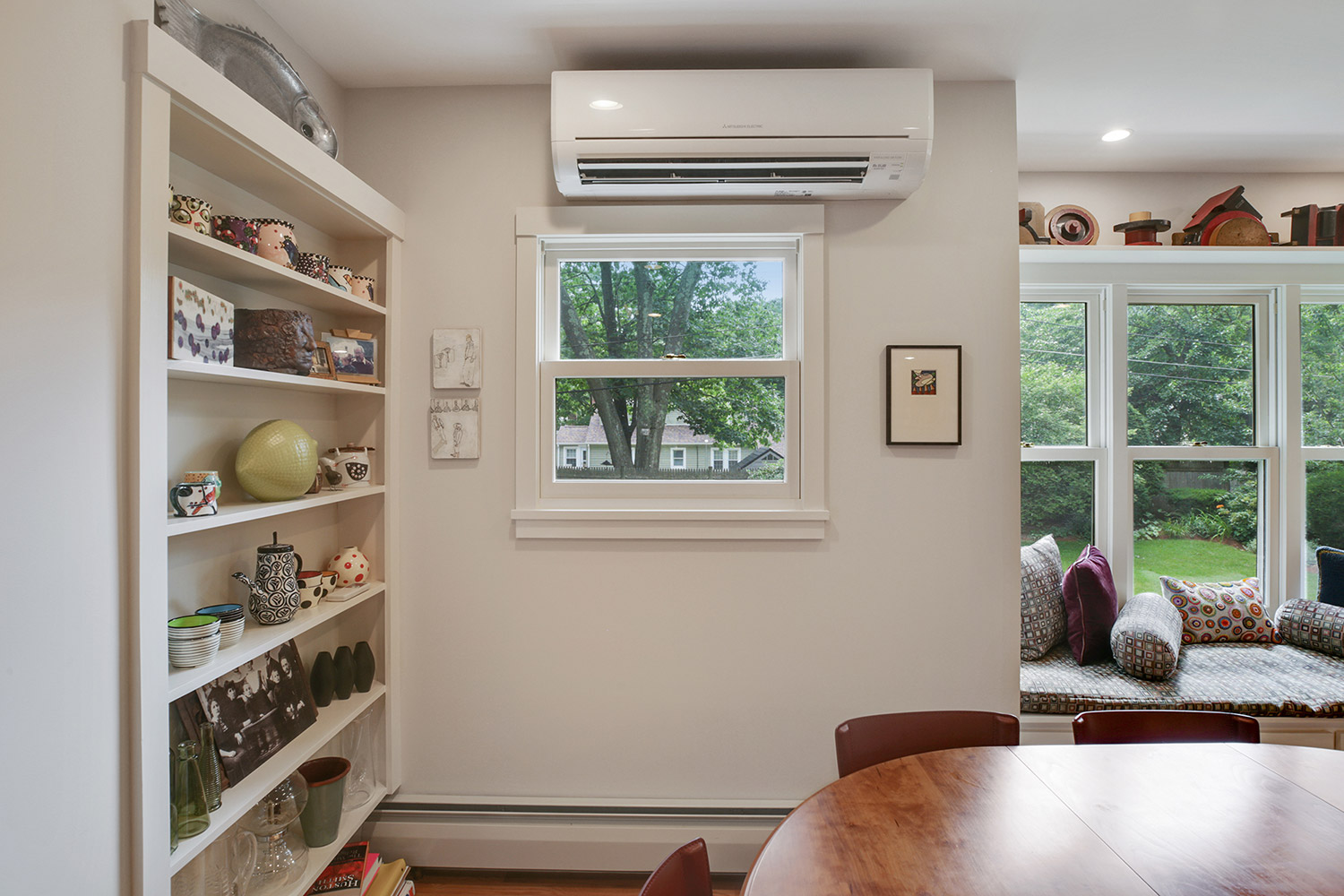 Image of a ductless unit