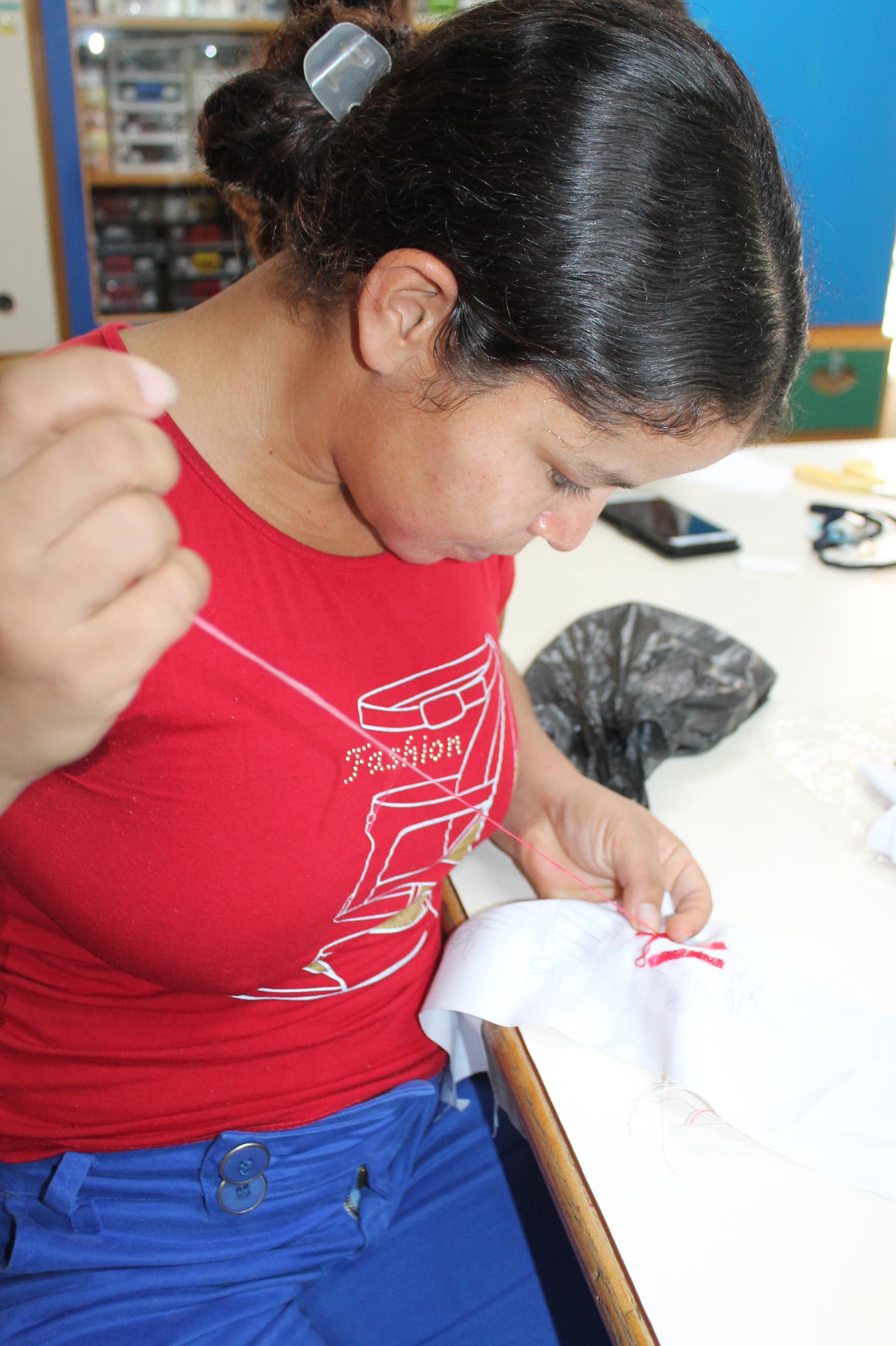 LINHA DE ATUAÇÃO DPIS- ATIV. MARIA MARIA