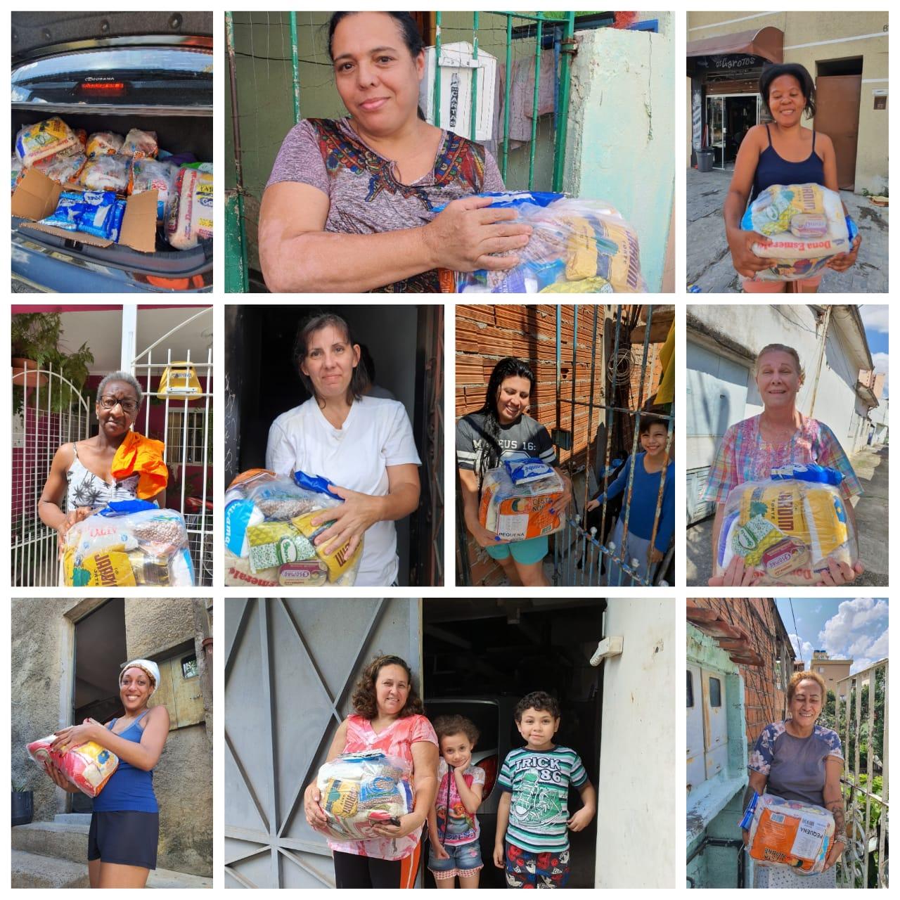 Doação de cestas básicas