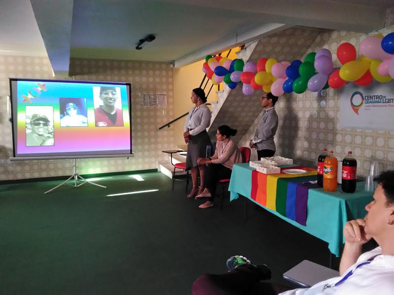 Ações com a população LGBT