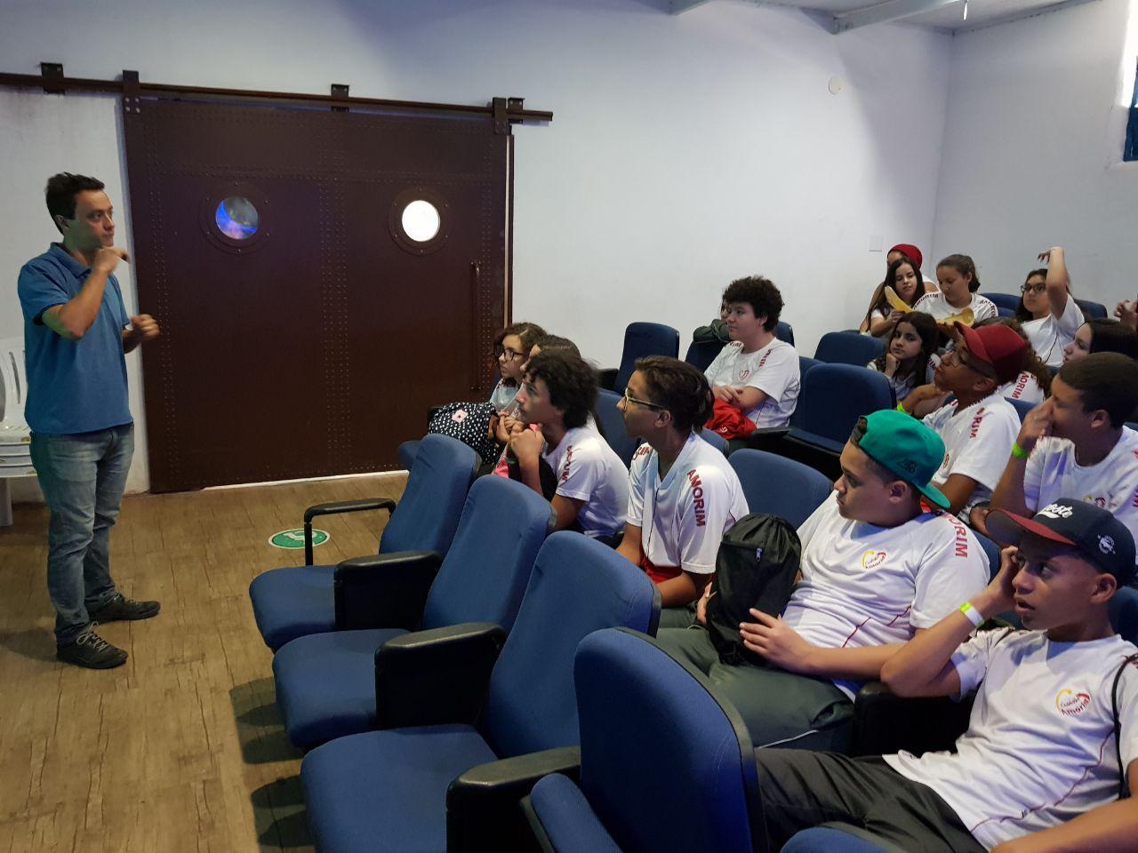 Palestras Escolares Aquario de Santos