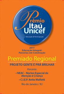 SELO DA PREMIAÇÃO ITAÚ UNICEF 2017