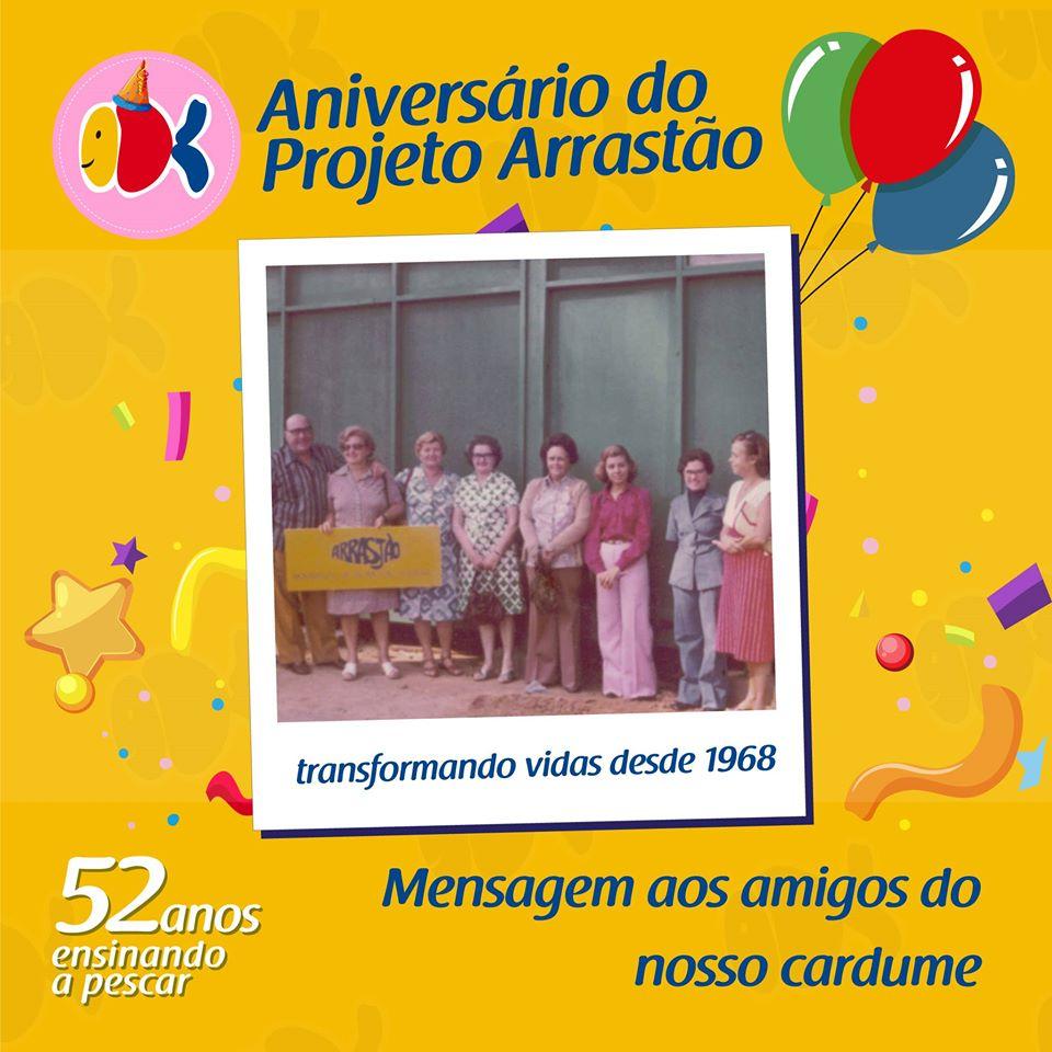 52 anos do Projeto Arrastão