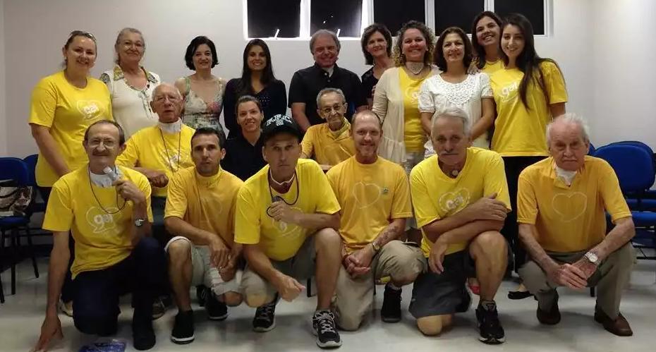 Foto da equipe da ONG ACBG Brasil - Associação de Câncer de Boca e Garganta