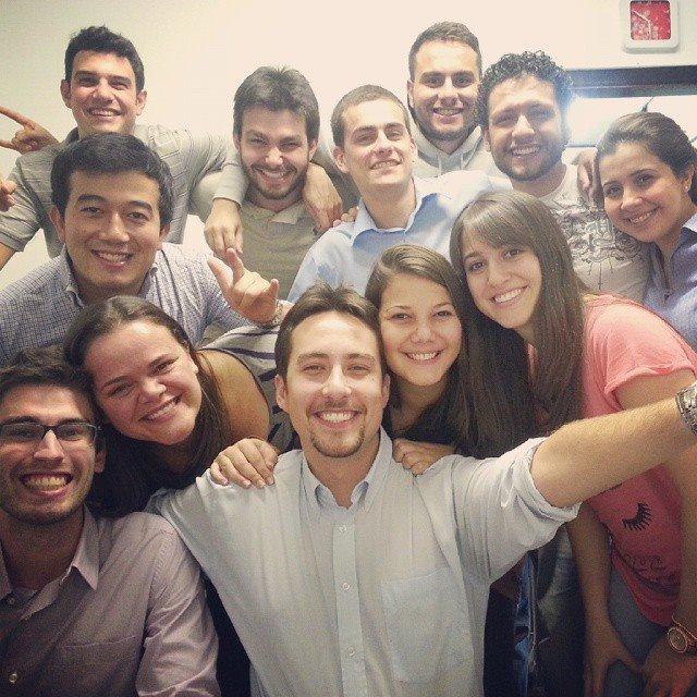 Foto da equipe da ONG ASID