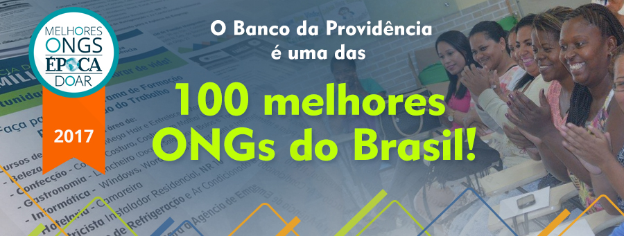 Foto da equipe da ONG Banco da Providência