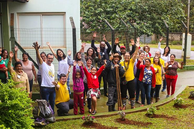 Foto da equipe da ONG Fundo Aliança Brumadinho
